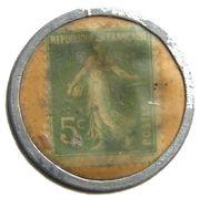 5 Centimes - Botot – reverse