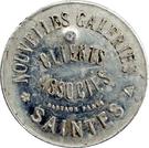 15 Centimes - Nouvelles galeries (Saintes) – obverse