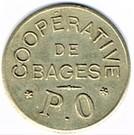 1 Franc - Coopérative de Bages – obverse