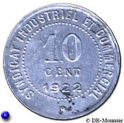 10 Centimes (Blois) – reverse