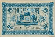 50 Centimes - Town of Mulhouse [68] – obverse