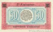 50 centimes - Chambre de Commerce de Lure [70] – reverse