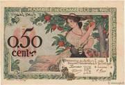50 centimes - Chambre de Commerce de Nice et des Alpes Maritimes – obverse