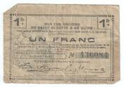 1 Franc - Regions de Saint-Quentin & de Guise – obverse