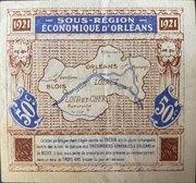 50 centimes - Chambre de Commerce d'Orléans et de Blois [45] [41] – reverse