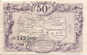 50 Centimes - Chambre de Commerce de la  Marne [51] – reverse