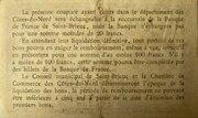 50 centimes - Chambre de Commerce des CÔTES DU NORD [22] – reverse