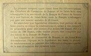 50 centimes - Chambres de Commerce de Rennes et de St Malo [35] – reverse