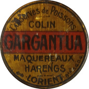 10 Centimes - Conserves Gargantua (Lorient) – obverse