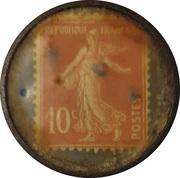 10 Centimes - Conserves Gargantua (Lorient) – reverse