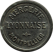 10 Centimes - Mercerie Lyonnaise (Montpellier) – obverse