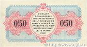 50 centimes - Chambre de Commerce d'Avignon [84] – reverse