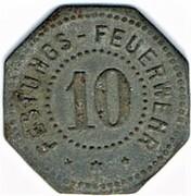10 Pfennig - Festungs-Feuerwehr (Thionville) – obverse