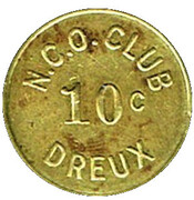 10 Cents - N.C.O. Club (Dreux) – obverse