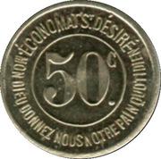 50 Centimes - Caisse de Famille – reverse
