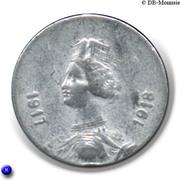 10 Centimes (Gard) – obverse