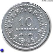 10 Centimes (Gex) – reverse