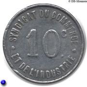 10 Centimes (Rochefort-sur-Mer) – reverse