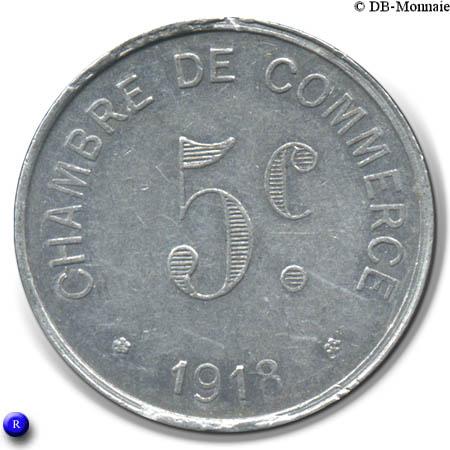 5 centimes rouen french notgeld numista. Black Bedroom Furniture Sets. Home Design Ideas