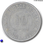 10 Centimes (Saint-Germain-en-Laye) – reverse