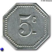 5 Centimes (Malakoff) – reverse