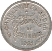 10 Centimes (Charleville & Sedan) – obverse