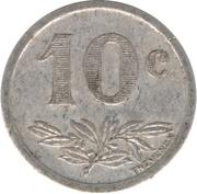 10 Centimes (Charleville & Sedan) – reverse