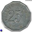 25 Centimes (Castres) – reverse