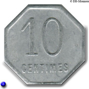 10 Centimes (Chalons sur Marne) – reverse
