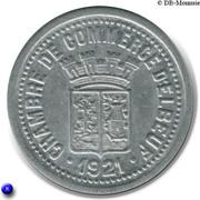 25 Centimes (Elbeuf) – obverse