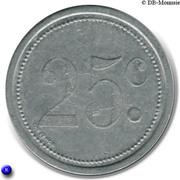 25 Centimes (Elbeuf) – reverse
