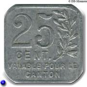25 Centimes (Pacy sur Eure) – reverse