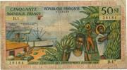 50 Nouveaux Francs – obverse