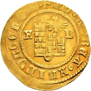 ½ Goldgulden – obverse