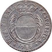 14 Kreuzer / ¼ Gulden – obverse
