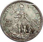 ½ Thaler - Franz Heinrich – reverse