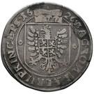 ½ Thaler - Albrecht von Wallenstein – reverse