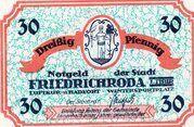 30 Pfennig (Issue 1B - das grüne) – obverse
