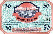 30 Pfennig (Issue 1B - das grüne) – reverse