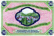 50 Pfennig (Issue 1C - Herz) – reverse