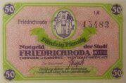50 Pfennig (Issue 1A - Friedrichroda) – obverse