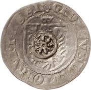 1 Prague Groschen (Counterstamped) – obverse