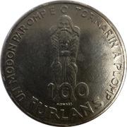 100 Furlans (900th Anniversary) – reverse