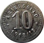 10 Pfennig - Fürstenwalde an der Spree – reverse