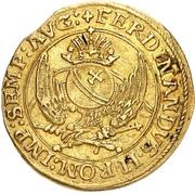 1 Goldgulden - Maximilian II. – reverse