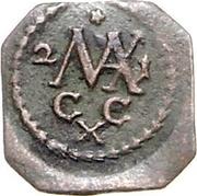 1 Pfennig - Maximilian II – reverse