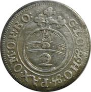 2 Kreuzer - Maximilian II – reverse
