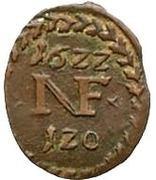 1/60 Gulden - Nikolaus (Kipperkreuzer) – reverse