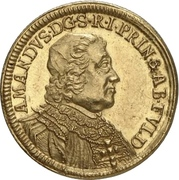 1 Ducat - Amand of Buseck – obverse