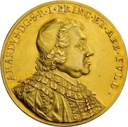 8 Ducat - Amand of Buseck – obverse
